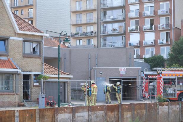 Brand in aanbouw van woning veroorzaakt heel wat rookschade