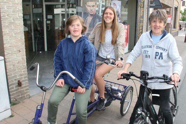 Leerlingen met beperking doen 'samen' Ronde van West-Vlaanderen