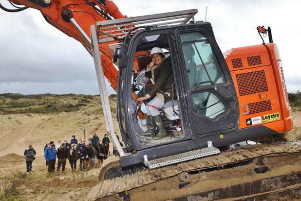 Minister Demir geeft startschot voor werken die de 'Sahara van De Panne' moeten redden
