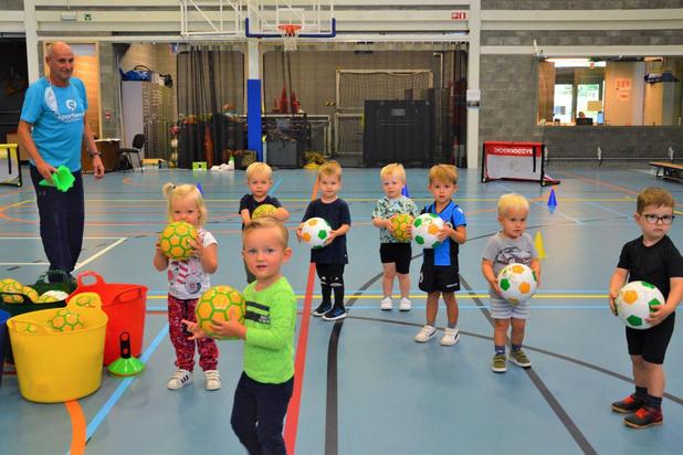 'BabyBallers' van start in Blankenberge