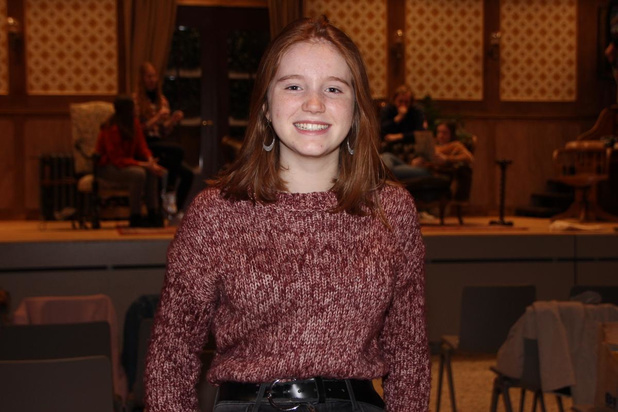 Nikita Buddaert (15) uit Pittem is jongste lid van Theater Buitenbeentje