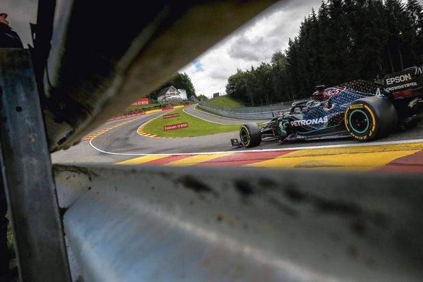 Gluren naar de F1