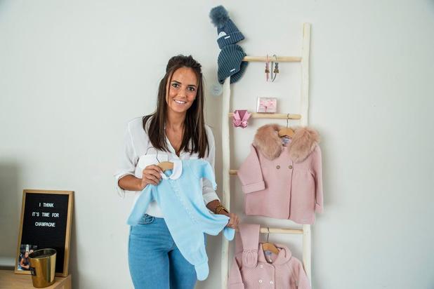 Emily Lanssens uit Roeselare deelt haar passie voor Spaanse babykledij in eigen webshop