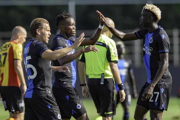 Club Brugge veegt in 120 minuten de vloer aan met KV Mechelen: 4-0 en 2-0