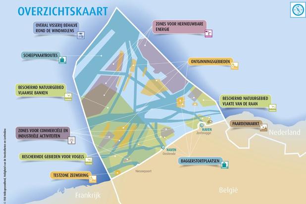 Nieuw plan voor ruimtelijke ordening op de Noordzee