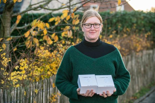 Melanie uit Roeselare zorgt met Camillus voor Donders Lekkere Dessertdoos als troost
