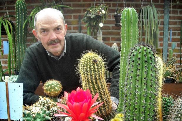 Cactuskweker Herman Werbrouck overleden