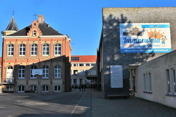 Coronabesmetting in Immaculata-Instituut