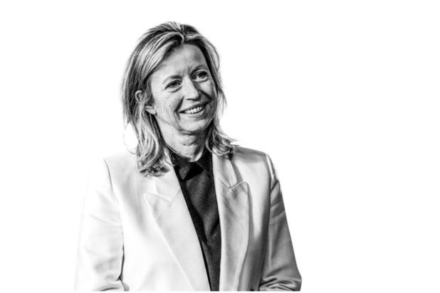 Kajsa Ollongren - Toont haar aantekeningen