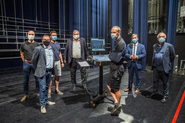 De Spil investeert 750.000 euro in automatisch systeem voor podium