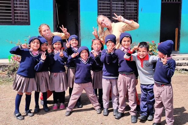 Amber Kemel moest stage in Nepal noodgedwongen stopzetten door corona