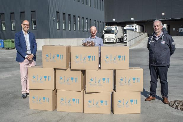 Knack Volley Roeselare schenkt 1.000 paaseitjes aan AZ Delta