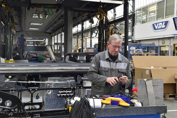 Productie busbouwer VDL Roeselare ligt stil