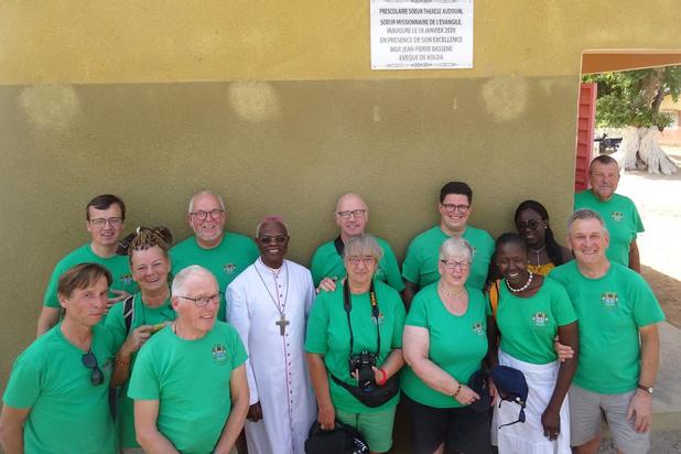 SOS Casamance met medetouwtrekkers Cyriel Caudron en Sabelle Diata uit Koksijde steunt projecten in Zuid-Senegal
