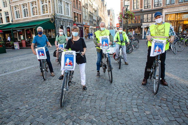 Fietsersbond Brugge pleit voor officiële fietszone in de binnenstad