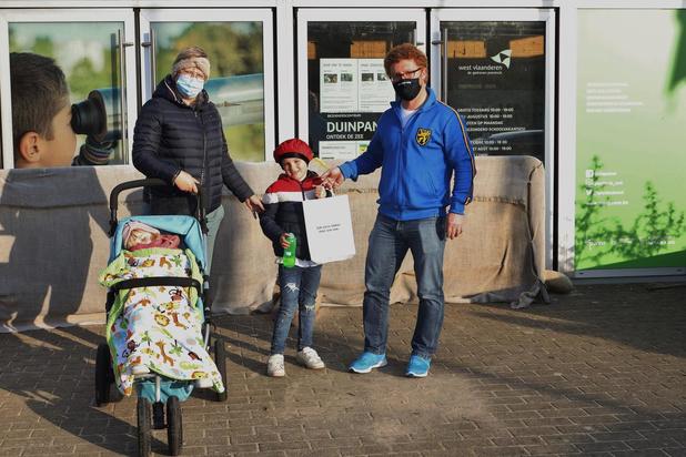 Bezoekerscentrum Duinpanne scoort met origineel 'belevingszakje'