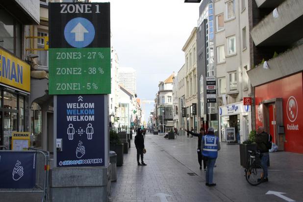 Nog geen overrompeling in Oostendse winkelstraten