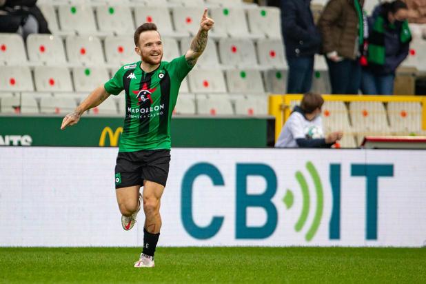 Dino Hotic (Cercle Brugge) bleef om een administratieve reden aan de kant