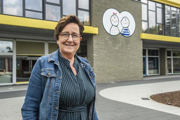 Mia Leenknegt nieuwe directeur in basisschool De Verrekijker in Rumbeke