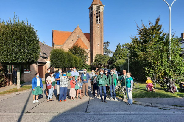 Groen Brugge voert actie in de Assebroekse bloemenwijk