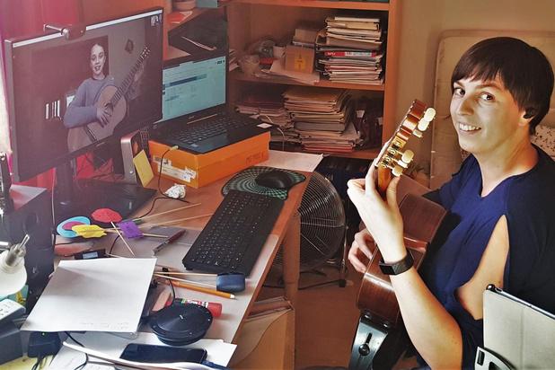 Conservatorium aan Zee en Kunstacademie aan Zee blijven les geven via internet