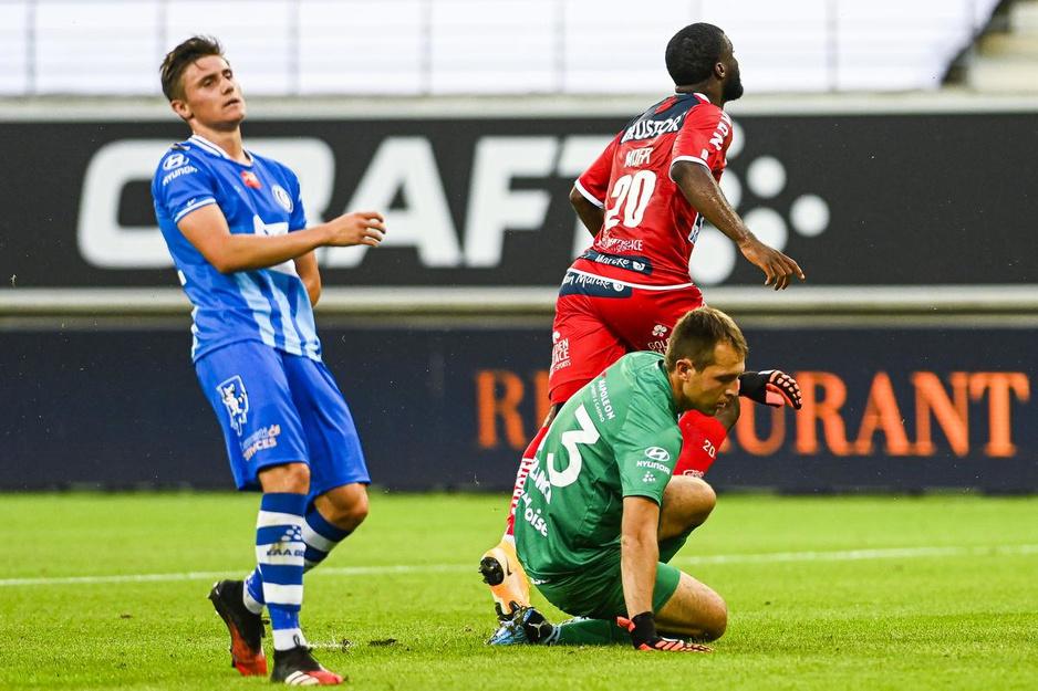 IN BEELD KV Kortrijk klopt AA Gent
