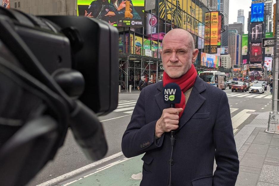 """Björn Soenens woont in New York City: """"Alsof er een atoombom op mijn stad is gevallen"""""""