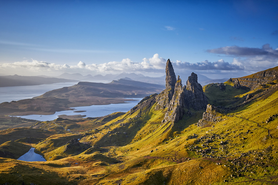 Tienmaal 'langzaam reizen' in Schotland