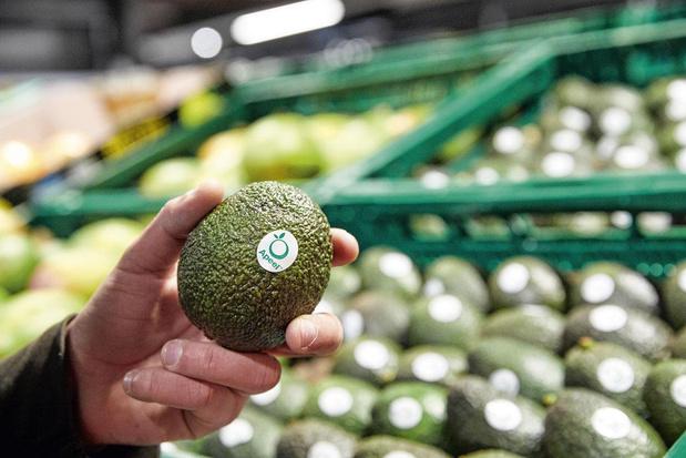 Avocado's dubbel zo lang eetbaar met tweede schil