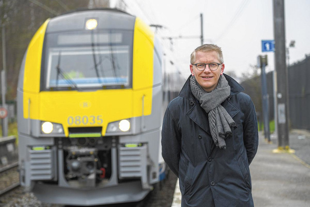 """Georges Gilkinet : """"Aucune ligne ferroviaire ne sera fermée au cours de cette législature"""""""