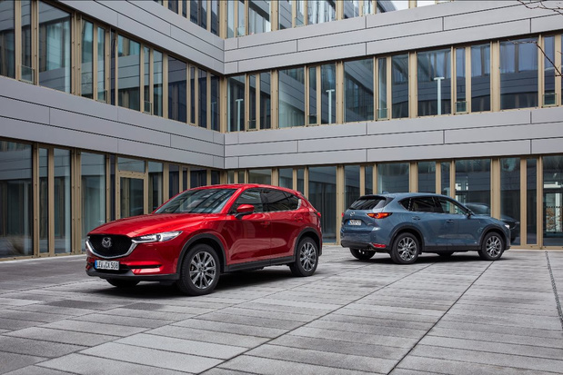 Mazda Belux commence bien l'année