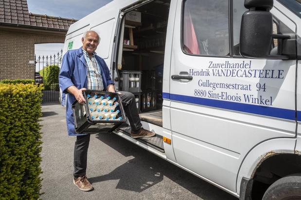Melkboer Hendrik Vandecasteele gaat na 43 jaar met pensioen