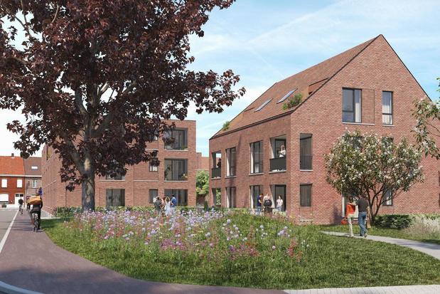 Industriële site Francar maakt plaats voor wooncomplex