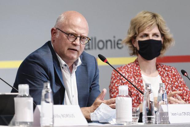 """Jean-Luc Crucke, ministre wallon du Budget: """"Ne nous leurrons pas, sinon nous serons déçus"""""""
