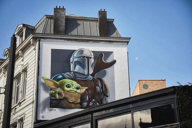 3 Disney+ Street Art