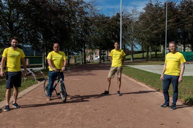 Wie beweegt wordt beloond met een T-shirt in Hooglede