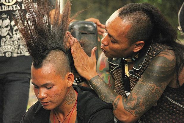 Tv-tip: in 'A Punk Daydream' wonen de échte punkers in het oerwoud
