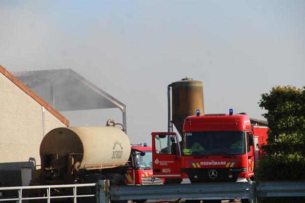 Dubbele loodsbrand in Langemark blijkt aangestoken