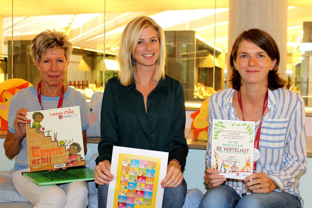 Waregemse bibliotheek vertelt dagelijks verhaaltjes voor kinderen via Facebook