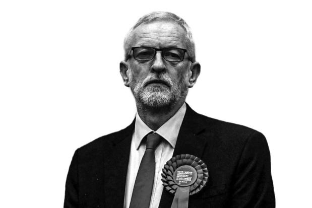Jeremy Corbyn - Vliegt buiten
