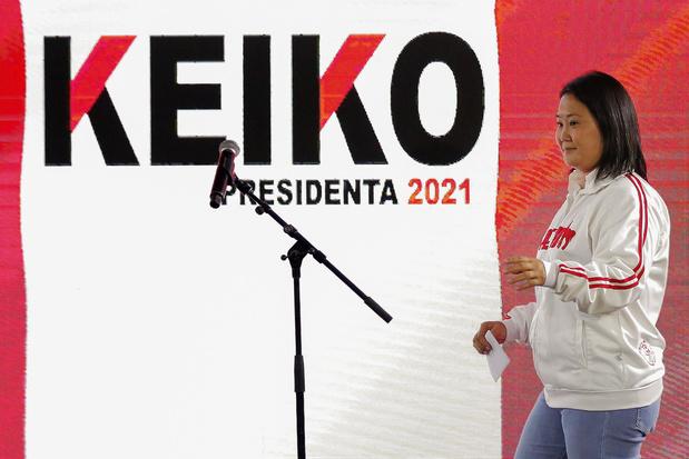 Keiko Fujimori pakt leiding bij presidentsverkiezingen Peru