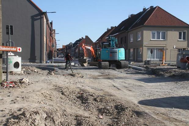 Corona vertraagt dorpskernvernieuwing in Langemark