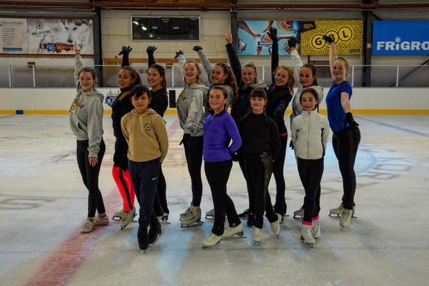"""Hoge ambities bij Figure Skating Club Kortrijk Spurs: """"Hier toptalent laten ontwikkelen"""""""