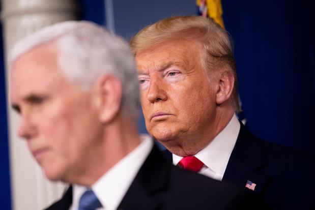 President Trump blijft oproepen tot verzet tegen verkiezingsuitslag
