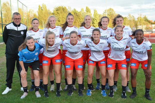 Dames Zulte Waregem openen vrijdagavond seizoen in Super League