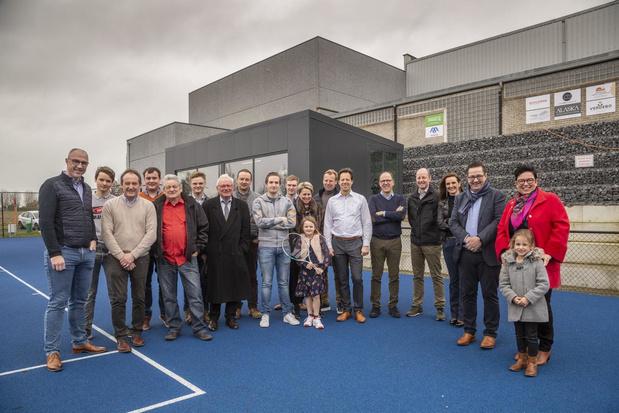 Tennisclub Moorslede is trots op nieuw clublokaal