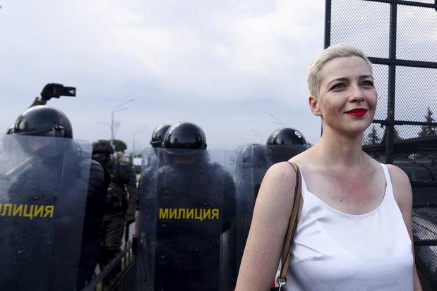 'Oppositieleidster heeft Wit-Rusland verlaten'