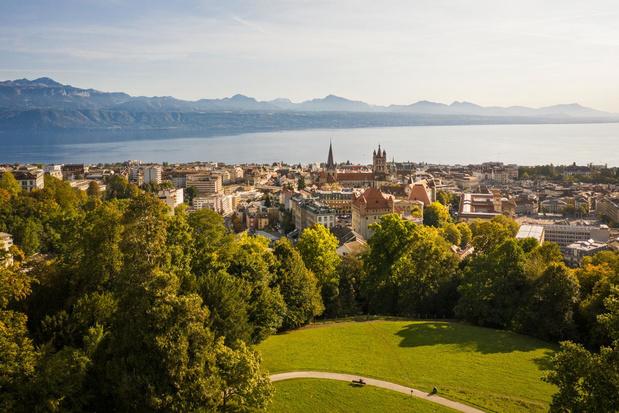 Lausanne, une ville en pleine nature
