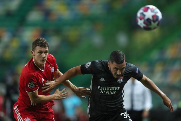 Bayern rukt op naar finale na 3-0 overwinning tegen Lyon en Denayer