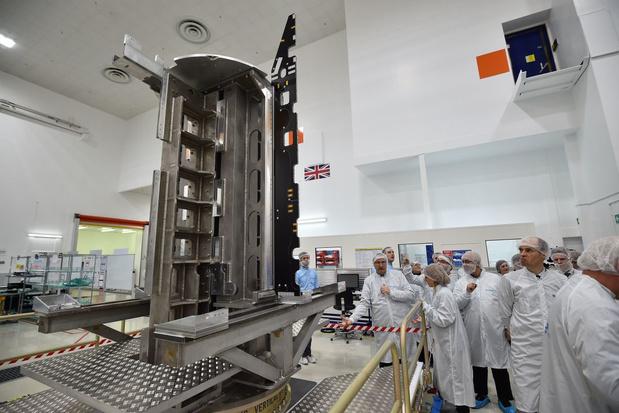 Europa stuurt baanbrekende commerciële satelliet Quantum de ruimte in